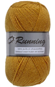 Lammy Yarns New Running Strømpegarn - 350 gul